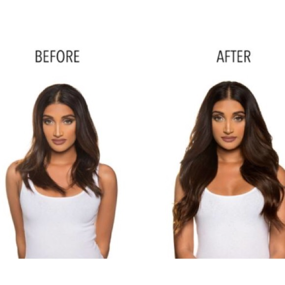 BELLAMI Accessories - BELLAMI Piccolina Brown Hair Extensions a02fbb96f3